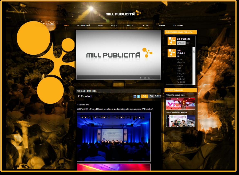 Intranet e blog Grupo Mill
